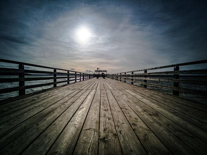 Footbridge Sea