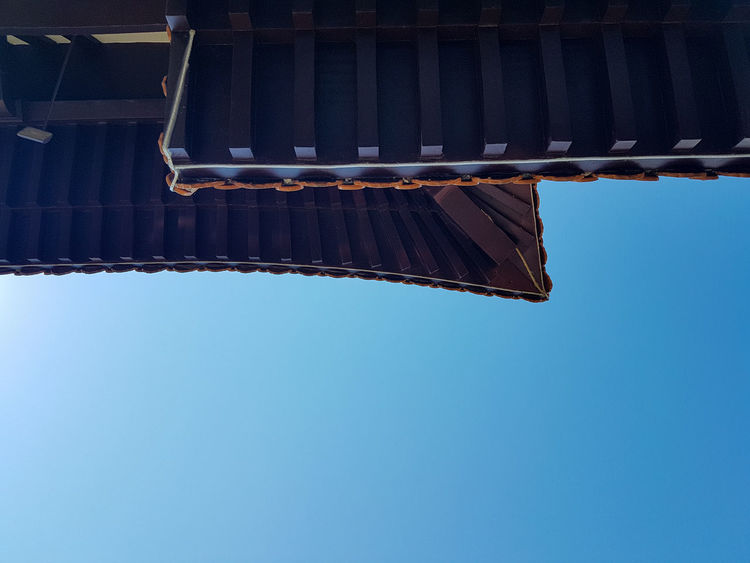 Zu Lai Temple Roof Buddhism Templozulai Minimalism Minimal Zen Zu Lai Temple Brazil Chinese Temple Chinese Architecture Temple Chinese Culture Geometric Shape Photography Photo Chinese Budismo Templo Blue Roof Sky Architecture Built Structure Roof Tile Rooftop Urban Scene Building Historic EyeEmNewHere