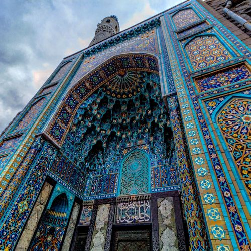 Mosque Mosque Architecture Decoration Mosaic Art Old Town Russia EyeEm Selects Saint Petersburg Spb Multi Colored Place Of Worship City Pattern Mosaic Full Frame History Architecture Built Structure Close-up Architecture And Art Architectural Design Architectural Detail The Architect - 2018 EyeEm Awards