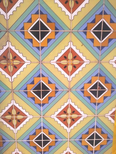 Union Station LA Tile Tiled Roof  Tiles Tile Design Tiles Details Tile Pattern Tile Art Tile Work Colors Yellow Blue Oranges Paint The Town Yellow The Week On EyeEm