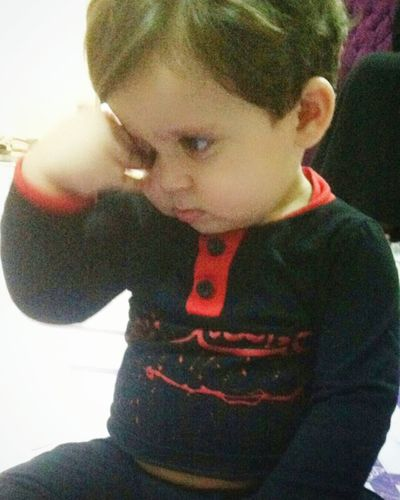 حبيبي مهدي البارحة سمع قصيدة حسينة وكام يبكي 😢😔😔 Kids So Cute Mahdi Iraqi  ويبقى_الحسين عاشوراء Ashora