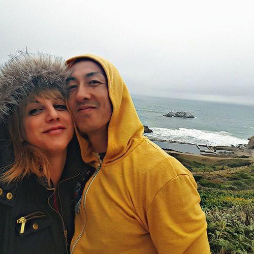 HappyMemorialDay Chokeoutcancer Chokeouttv SF Sanfrancisco Sutro Beach Cliffhouse Love Blondhairdontcare Eskimokisses