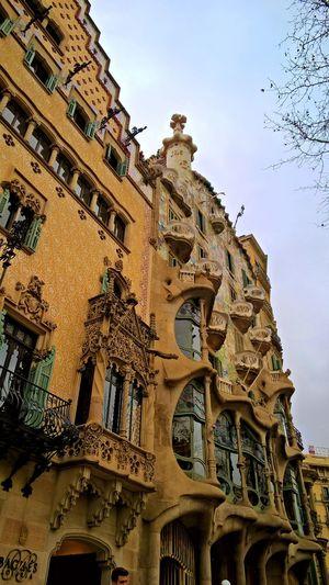 Gaudi House Architecture Barcelona Building Gaudi House