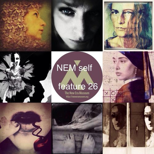 NEM Self Here are the featured Artists for NEM self 26. Great work and Congrats! http://neweramuseum.org/words/2014/7/21/brett-chenoweth-selections-for-nem-self-26 http://www.eyeem.com/p/41588688 Lisa @Artist275 http://www.eyeem.com/p/41156965 Moni Zitroni @Moni_Zitroni http://www.eyeem.com/p/41508701 Elena DiMaggio @elenaD http://www.eyeem.com/p/41367877 Patricia Larson @patylarson http://www.eyeem.com/p/41839308 Raquel Noguerol Perez @amares http://www.eyeem.com/p/41744437 jen @holgajen http://www.eyeem.com/p/41634798 jenbracewell @JenniferBracewell http://www.eyeem.com/p/41313303 lorenka @lorenka