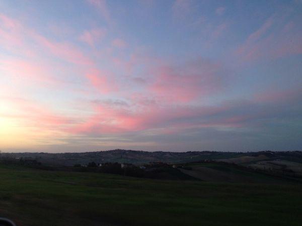 La giornata inizia al tramonto RoadtoPONGETTI Lifeissweet Raggiungerelafelicità Todabeleza
