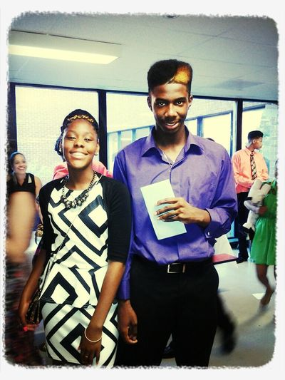 me and R.o.D nigga @ graduation ♥