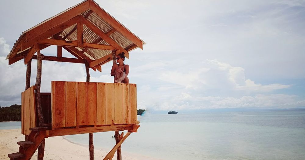 Siargao Philippines Philippines ❤️ Water Sea Beach Sky Architecture Horizon Over Water Cloud - Sky Built Structure Cityscape