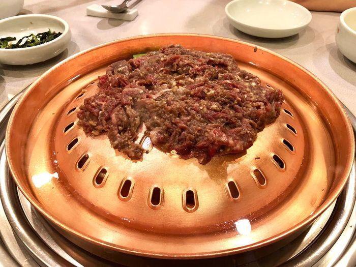 Foodpics Korean Food Bulgogi Food And Drink Food Freshness Indoors  Ready-to-eat High Angle View Still Life