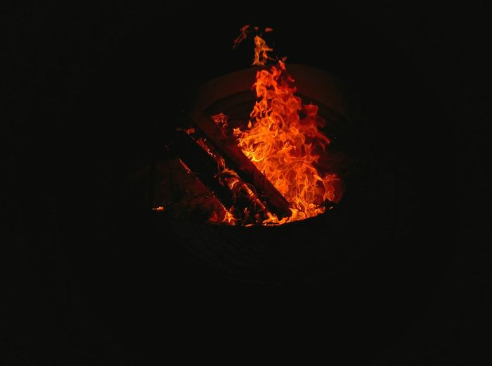 Late night fire pits. Bonfire Firepit Beach