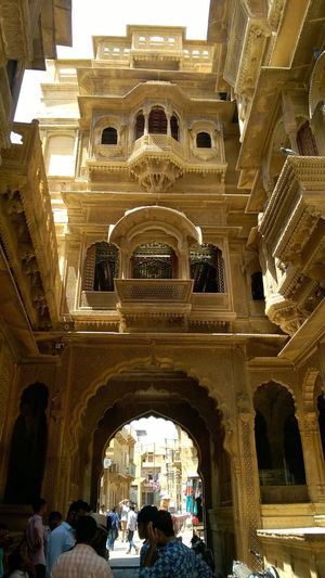Rich Architecture Rajwada Jaisalmerdiaries Tourism Incredible India Rajasthan