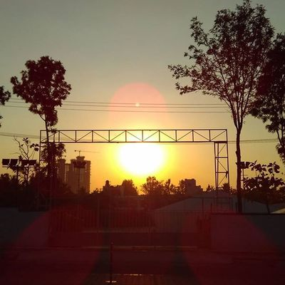 Cinematography View Manyata_tech_park Bengaluru Sunset Beautiful Instaevening Instalike Instagood Instadaily Throughmyeyes Nofilter
