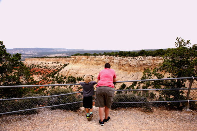 Dinosaur National Monument national park, Colorado. Lgbt Lgbt Family Queer Women Gender Beauty In Nature Child Colorado Day Full Length Landscape Lesbian Lifestyles Mountain National Park Nature Outdoors Parents Railing Remote Scenics Son Summer Vacation Tourism Tourists People Together Tranquility Vacations