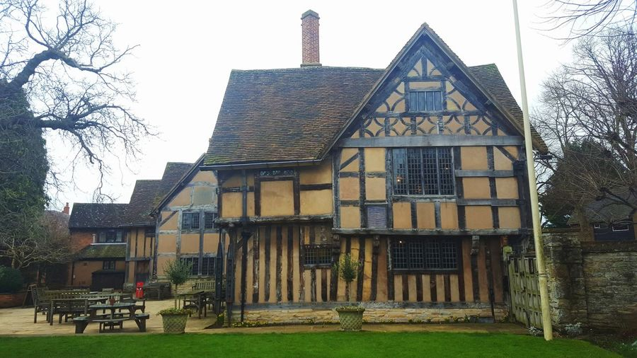 Hall's Croft, where Shakespeare's daughter lived. Shakespeare William Shakespeare England Stratford-upon-Avon Uk Hall's Croft Old House Elizabethan Tudor