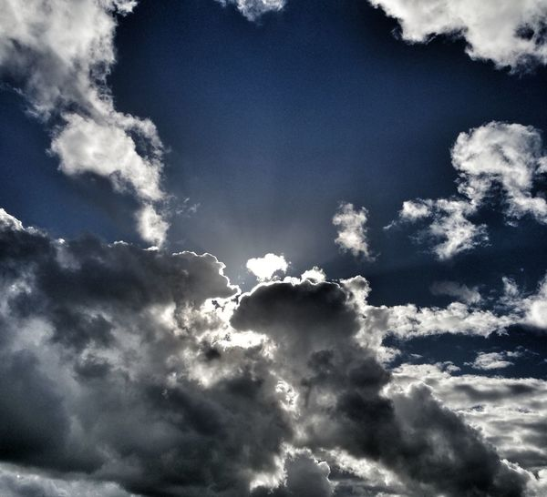 Cloud - Sky Sky Beauty In Nature Nature Day Scenics Blue Weather Dramatic Sky Keep Your Eyes Open