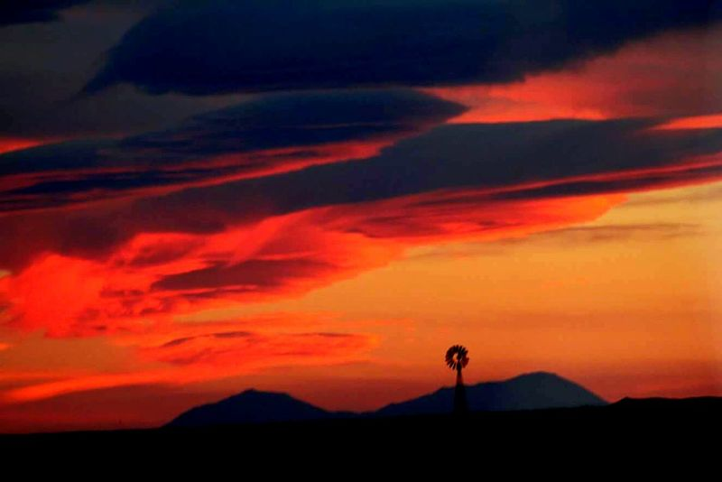 Sky Sunset Scenics Beauty In Nature Cloud - Sky Nature Outdoors Landscape Mountain Night Tranquility No People