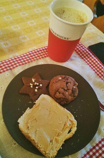 saturday breakfast! Breakfast Good Morning Morning Glory Peanut Butter Cookie Huge Breakfast Saturday Morning