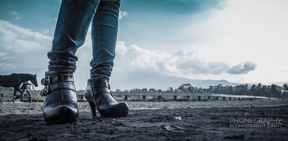 Octavianuspict Cowboy Boots Cowgirls PhonePhotography Sky Cloud - Sky Eyemphotography EyeEm Best Shots Cameraponsel Lenovoa6000 Indonesia_photography INDONESIA