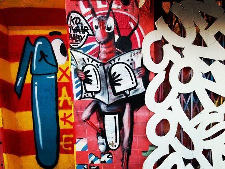 @konair Streearteverywhere Streetartbcn Streetartbarcelona Barcelonastreetart Bcnstreetart Barcelona Bcn Tv_streetart Rsa_graffiti Instastreetart Instaphoto Arteenlascalles Arteurbano