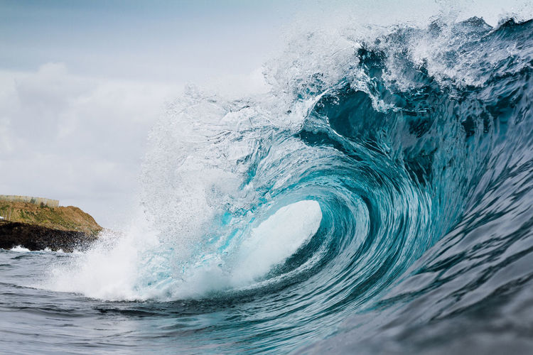blue wave Motion Sea Water Power In Nature Wave Power Beauty In Nature Force Splashing Waterfront Nature Crash No People Outdoors Day Aquatic Sport Waves, Ocean, Nature Waves Crashing Waves Surf Surfing Nature EyeEmNewHere EyeEm Best Shots EyeEm Nature Lover