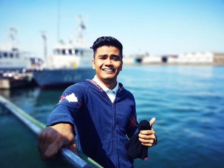 Hi! I'm in Japan Shoreleave Happy Time Seaferer Bigsmile Gentlemanstyle Foreigner Crew Niceplace
