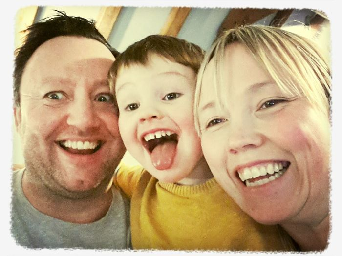 Holiday Family Selfie