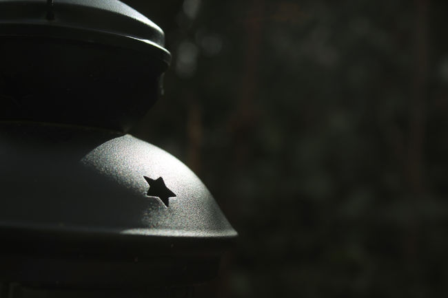 Close-up Dark Day Garden Lamp Light Spot Nature No People Outdoors Shadow Star EyeEmNewHere