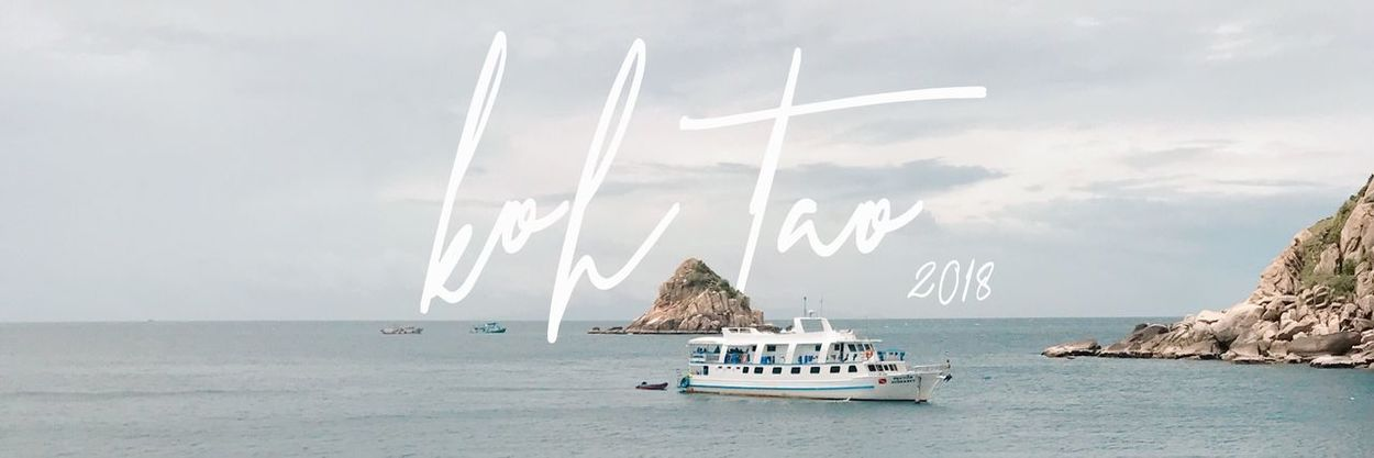 Liveaboard Island Ocean EyeEm Selects Nautical Vessel Water Mode Of Transportation Transportation Sea Sky