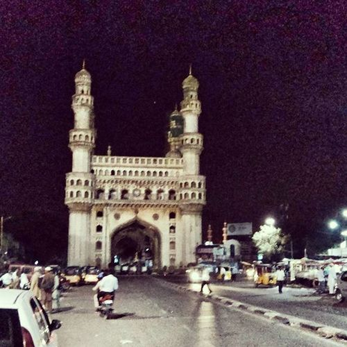 Hyderabad Citytravel Citylife Nightout Charminar Amazing Architecture Nizam Traveldiaries Travel 4am Bestcity Night Nightout Memories Pastal Power