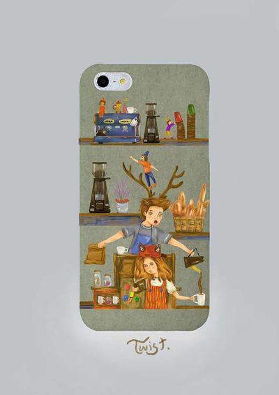 coffee twist case. Nantwist Iphone Case Working Mydesign
