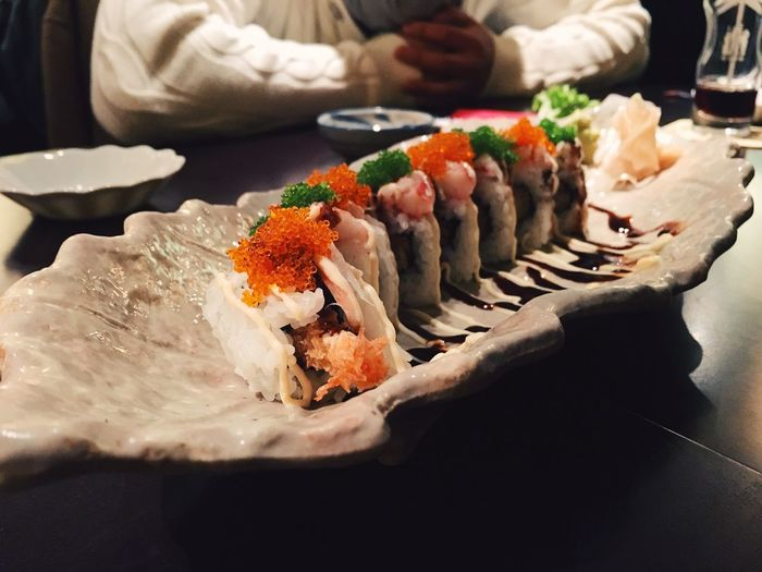 Close-up Culture Food Food And Drink Healthy Eating Healthy Lifestyle Japanese Food Plate Sushi