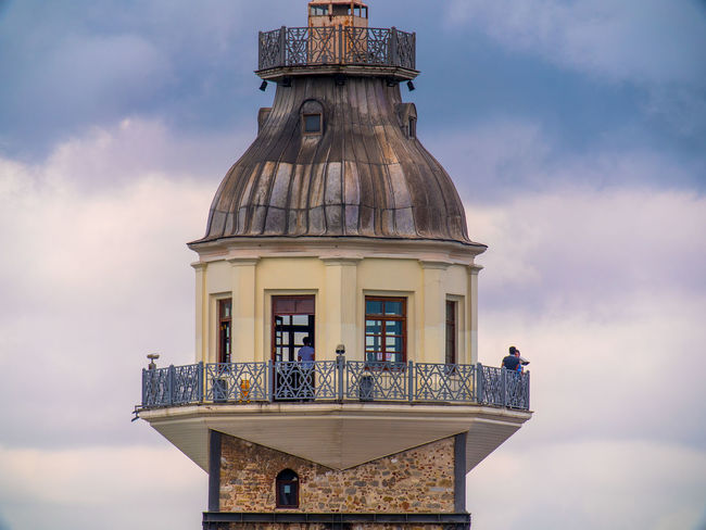 Architecture Building Exterior Built Structure City Cityscape Cloud Cloud - Sky Day Dome Gh5 Historical Building History Kız Kulesi Low Angle View Maiden's Tower Old Old Buildings Outdoors Panasonic  Sigma 18-300 Sky Sky And Clouds Tourism Tower Uskudar