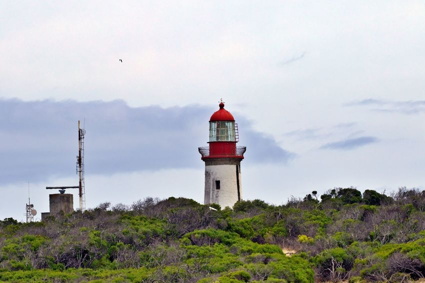 Architecture Built Structure Building Exterior Tower Guidance Lighthouse Building No People Security Outdoors Land Day Robben Island