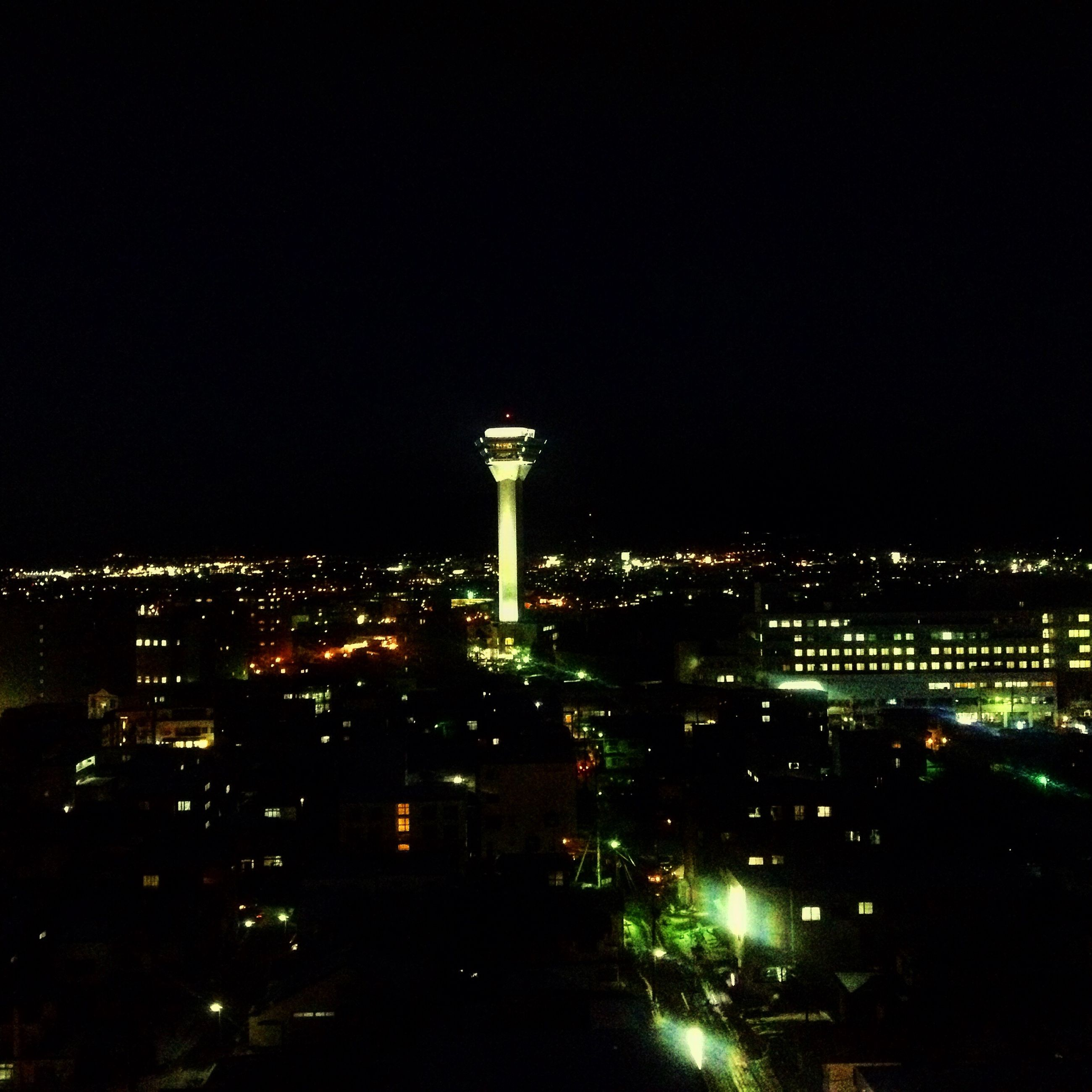 night, illuminated, city, building exterior, no people, architecture, built structure, outdoors, sky, cityscape, nature