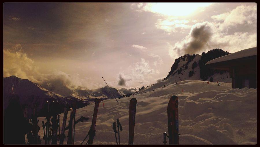 Wenn die Sonne sich zeigte wars einfach nur schön. Snow