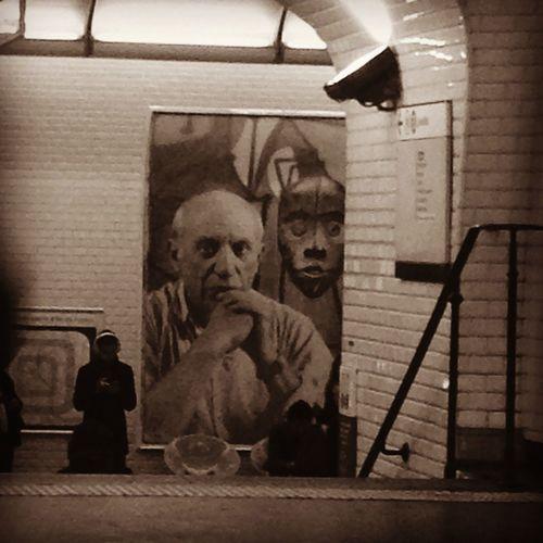 Exhibition Paris Metro Picasso