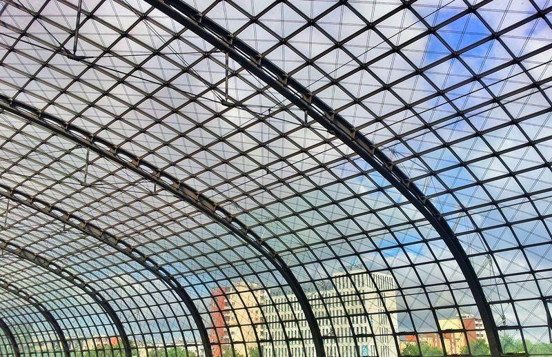 Interior Of Berlin Hauptbahnhof