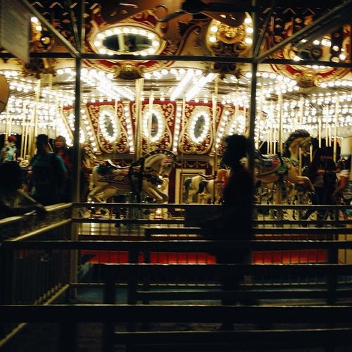 Carousels are for babies...it's too dizzying for me. haha Chasinglight Vscocam Latergram Socality