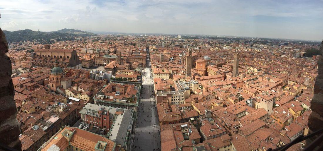 Bologna EyeEm Selects City Cityscape Building Exterior Built Structure Architecture Sky Aerial View TOWNSCAPE Travel Destinations