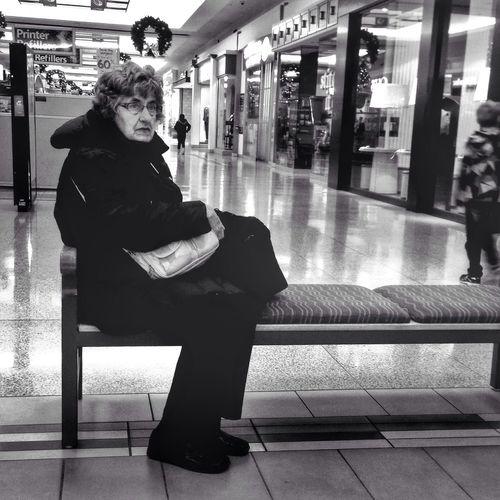 Street photography, mall shots