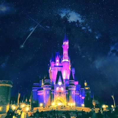 Night Travel Destinations Illuminated Architecture Sky City Travel Star - Space Tourism Building Exterior Tower Outdoors Built Structure No People Light Effect City Gate Galaxy Milky Way Tokyo,Japan Disneyland Disney