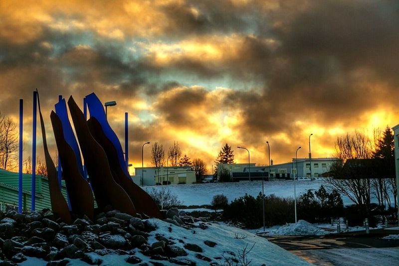 Kópavogur Hanging Out Taking Photos Wintertime ⛄ December Morning Cold Winter ❄⛄ Beautiful Day Frosty Mornings
