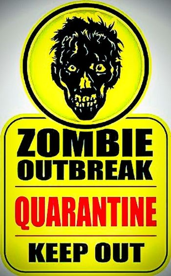 WTF!? Red Black And Yellow The Undead Death Dead Zombieapocalypse Walking Dead The Walking Dead WTF Human Representation Non-human Zombie OUTBREAK RESPONSE TEAM Zombie Outbreak Zombieoutbreak Danger Keepout Keep Out! Keep Out Warning Sign Warning Zombie Apocalypse ZombieQuarantine Quarantine Zombie Zombie Hunter Sign Signage Signs Zombies  No People