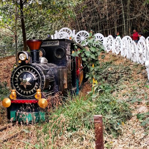 The Toy Train at Cubbon Park in Bangalore. Mobilephotography