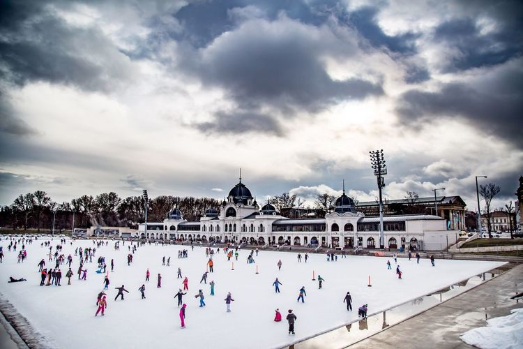 Ice skating The Great Outdoors - 2018 EyeEm Awards