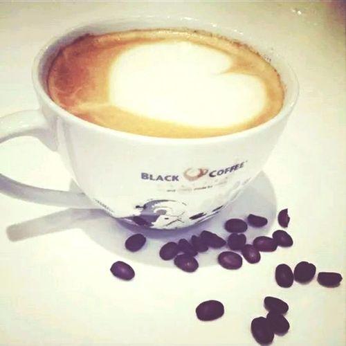 Enjoying A Meal Coffee Time i love coffee :3