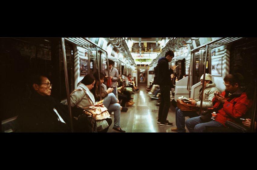 Illuminated Filmisalive Xpan 70mm Emilrauschenberg Film Photography Filmisnotdead Streetphotography Lifestyles City Life First Eyeem Photo Real People Magnumphotos EyeEmNewHere Filmphotography Tokyo Street Photography Tokyo Transportation