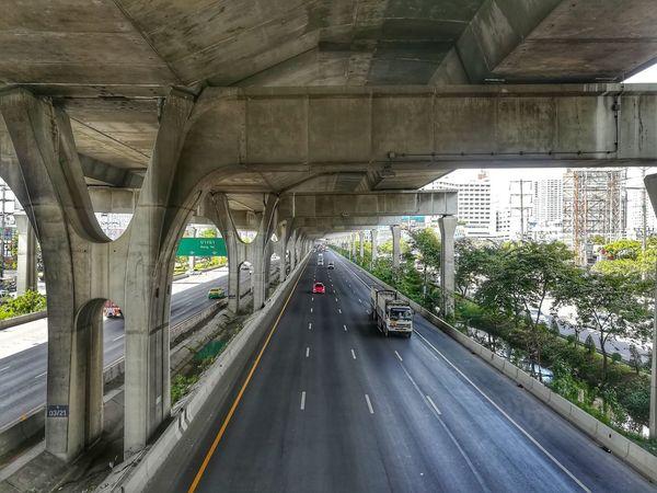หน้าหนาวที่ไม่หนาว. . . Transportation Car Road The Way Forward Mode Of Transport EyeEm Thailand Huawei Collection Huaweiphotography