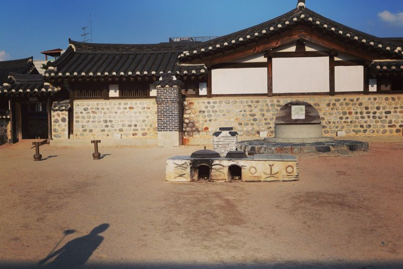 History Culture Built Structure Architecture Travel Destinations Tourism Outdoors The Past Day Korean Traditional Architecture