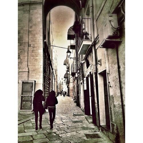 Walking In Bari Vecchia