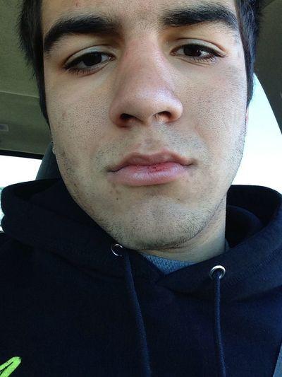 Busted My Lip In Football Haha